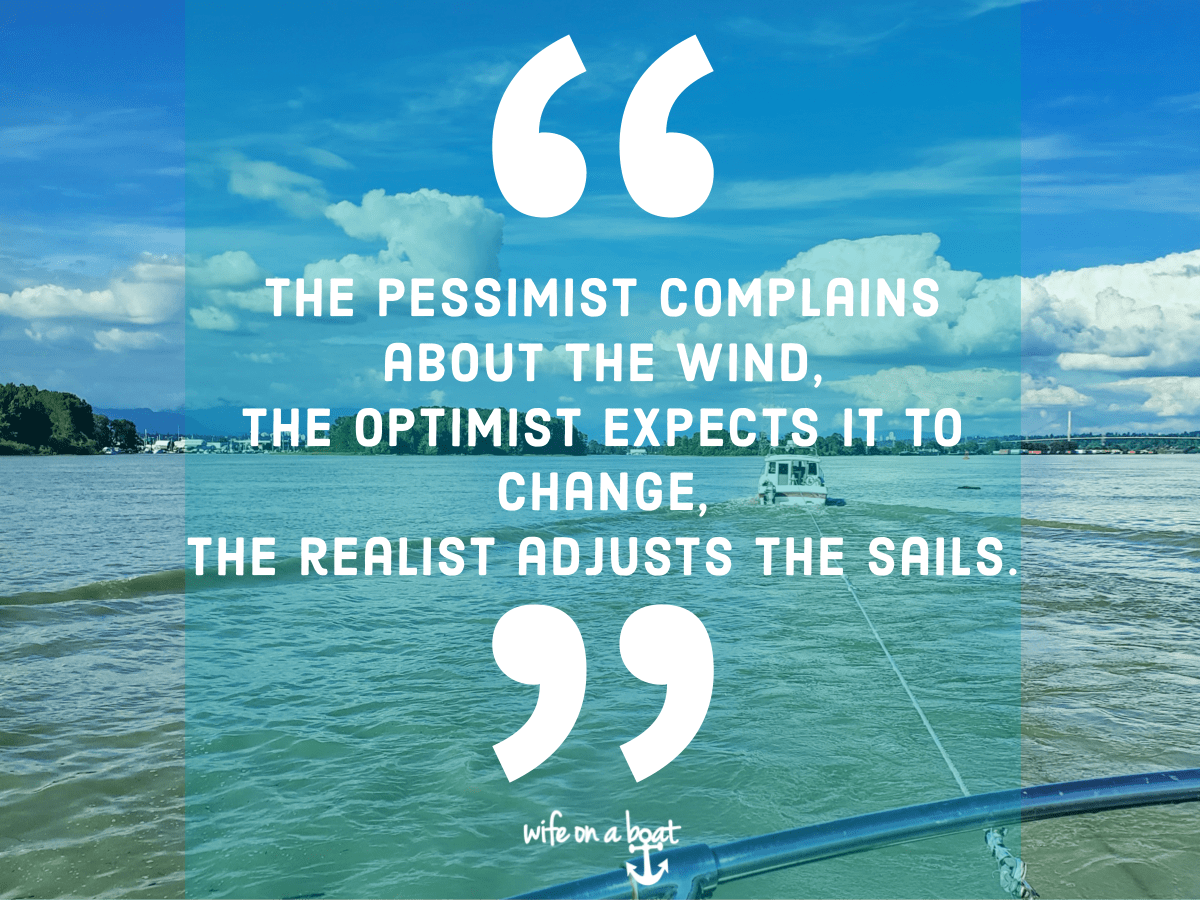 Boat Quote - Finding Realism