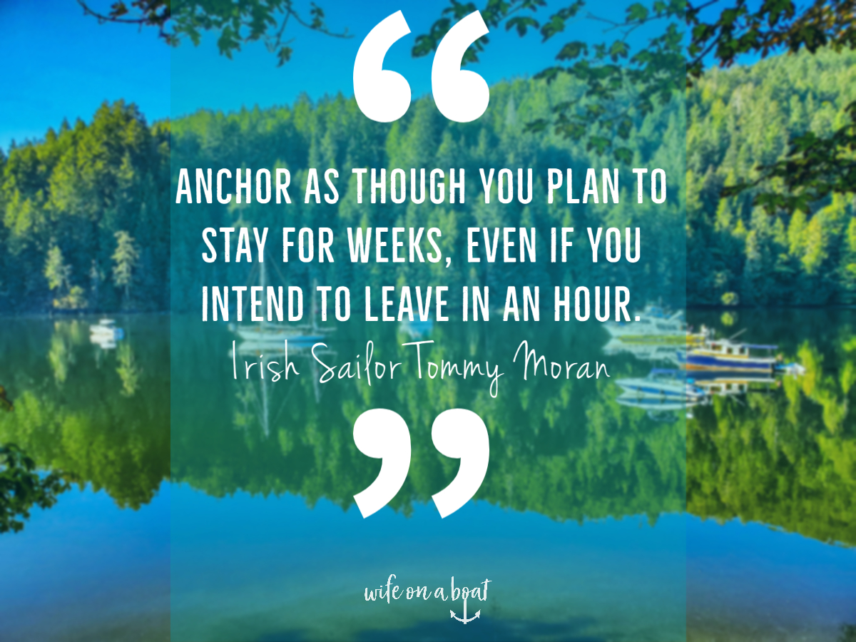 Boat Quote - The Anchor