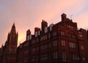 Sunrise over Mayfair, London