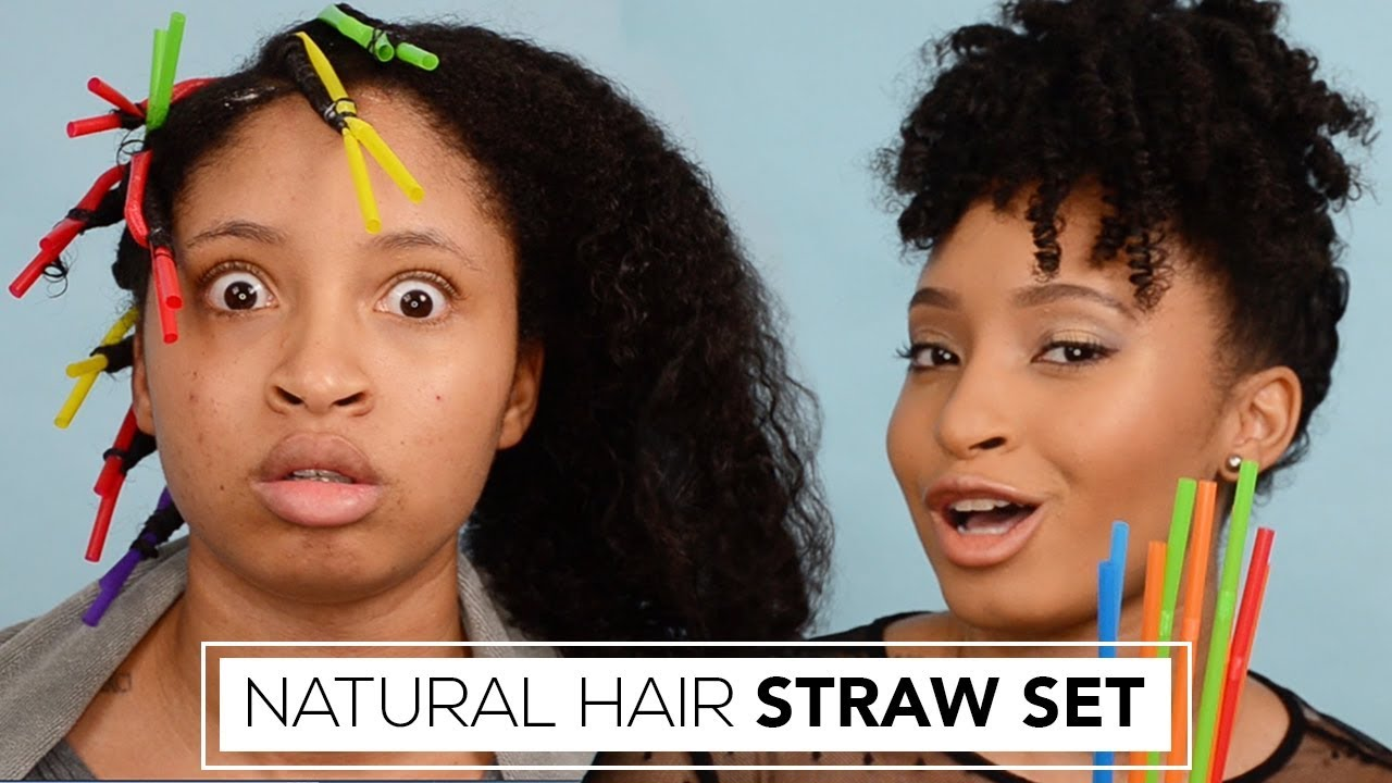 How To Straw Set Natural Hair Holiday Hairstyles For Natural Hair Usin Wifey Knows Best