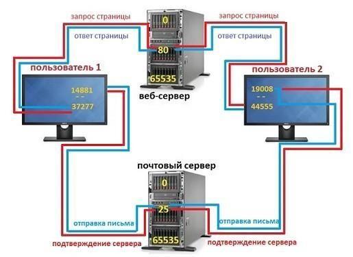 Порты (TCP, UDP) – что это такое, какие бывают, как ...