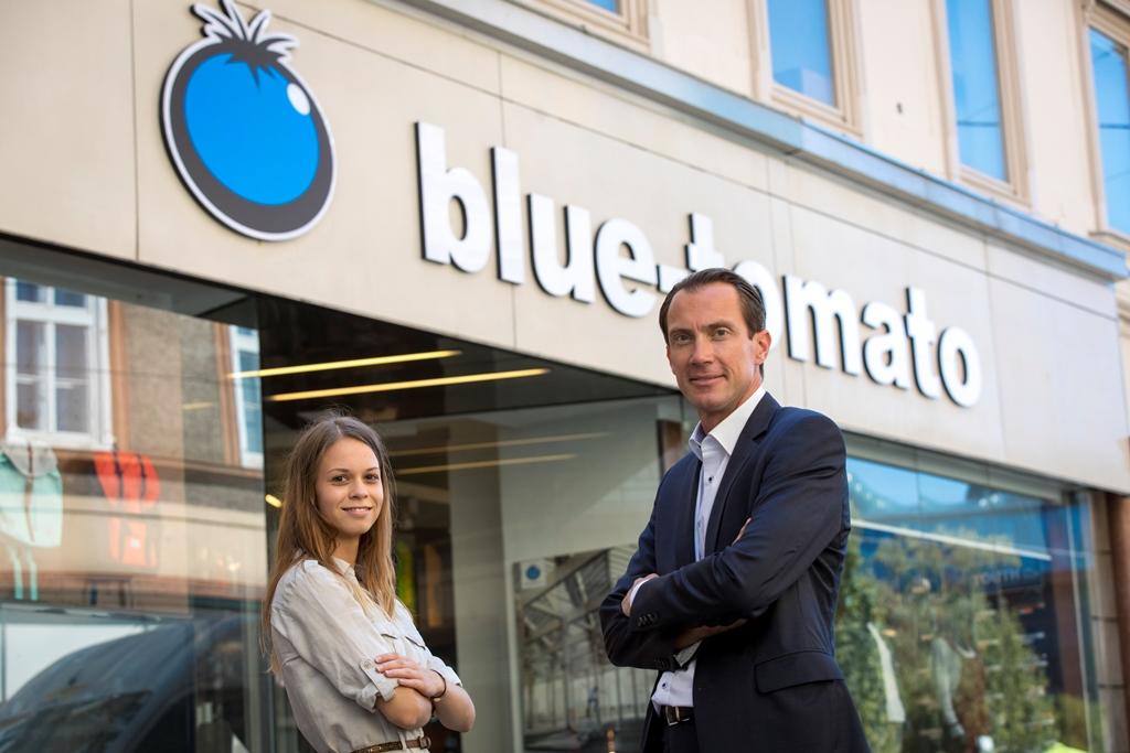 Magdalena Tuppinger (Blue Tomato) und David Schütze (WIFI Steiermark)