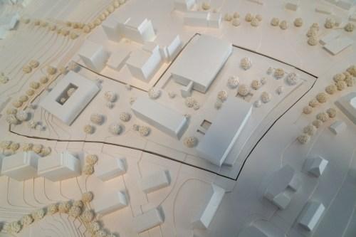 Center of Excellence - Die neuen Gebäude fügen sich nahtlos in das Ensemble des WKO Geländes ein.