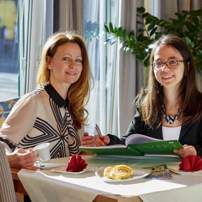Angela Köldorfer Teuschler, Francesca Amone, Testimonial, Wifi Steiermark, Italienisch Kurs