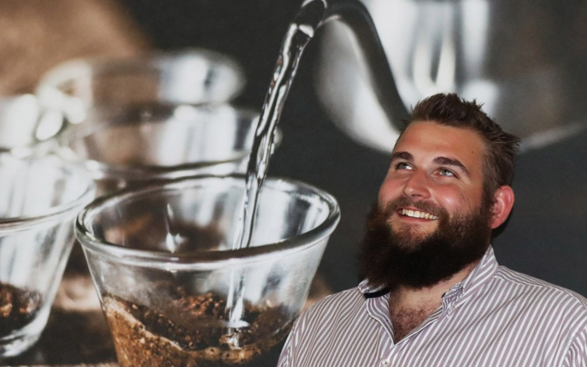 David Kappmaier – als Barista hat man Koffein im Blut