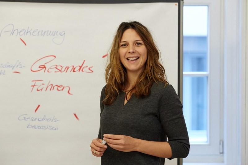 Michaela Höfer, Testimonial, Wifi Steiermark,
