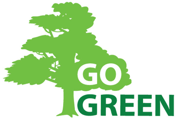 Go Green Slogan Poster Environmental Slogans Pinterest (10) - Modern