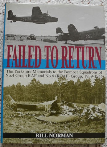 Yorkshire WW2 Memorials to Bomber Squadrons No.4 Group RAF & No.6 (RCAF) Group