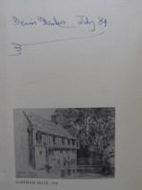 Dennis Flanders' Britannia Signed by the Artist