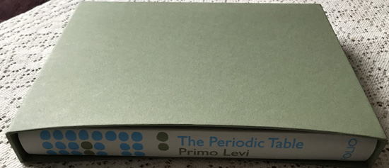 The Periodic Table By Primo Levi (The Folio Society)
