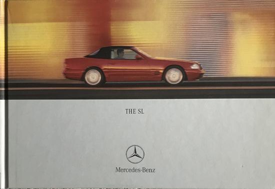 Mercedes-Benz SL 2000-01 UK Market Hardback Sales Brochure