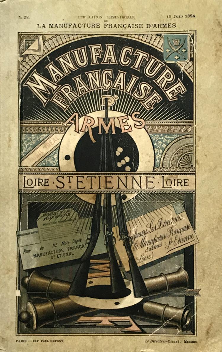 1894 : Manufacture Française D'Armes de Saint-Etienne