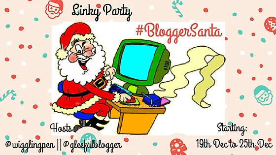 #BloggerSanta Christmas party ideas