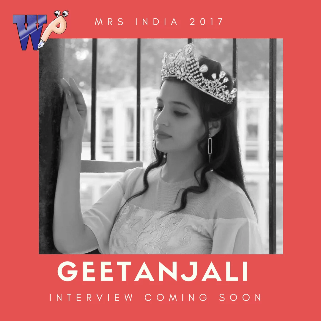 Geetanjali Singh- Mrs India 2017