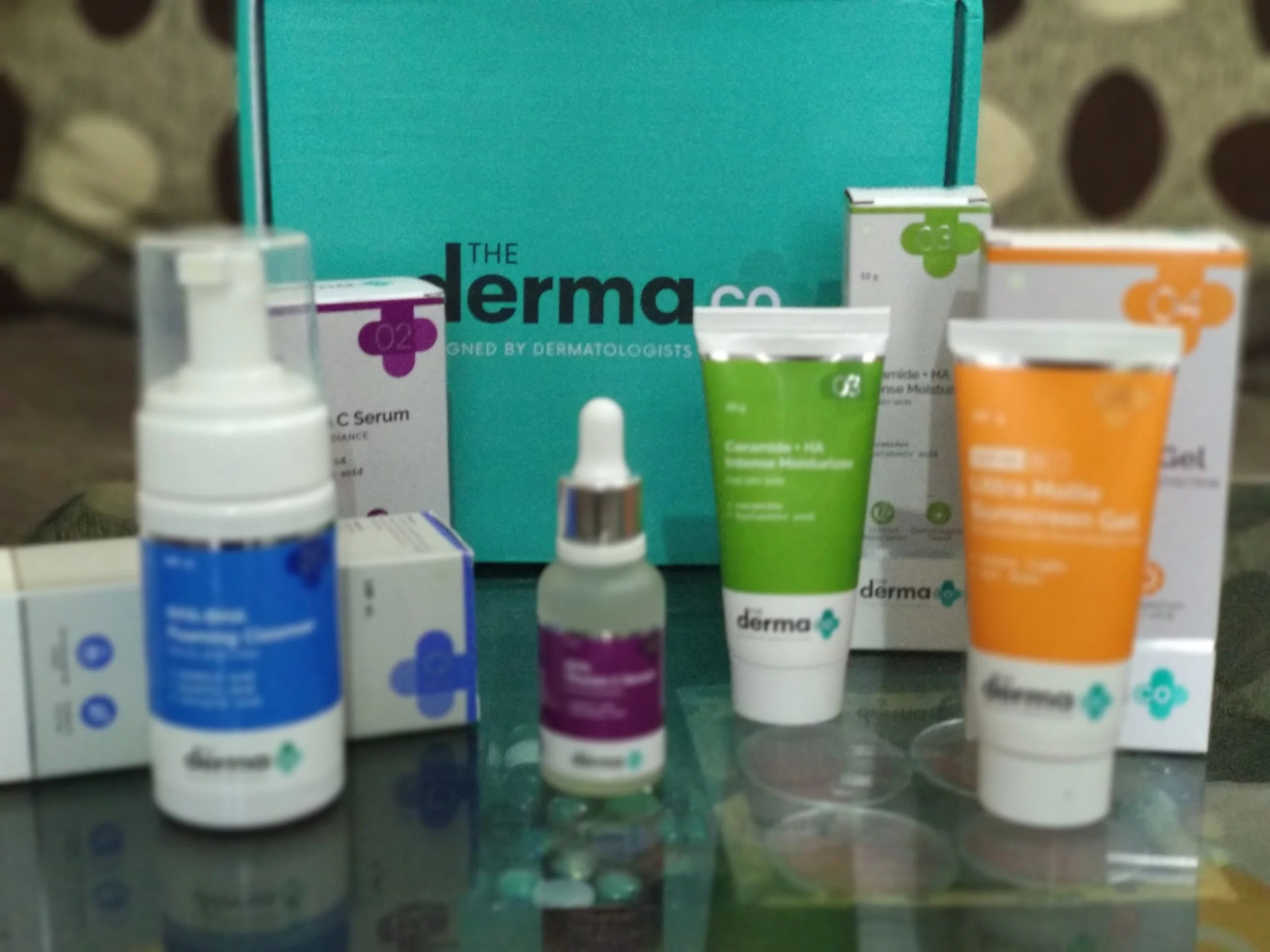 The Derma Co- Dermatologist Designed Skin Care Regimen