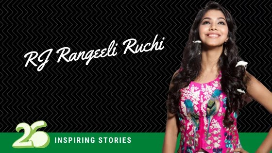 RJ Rangeeli Ruchi- Girl with passion and talent