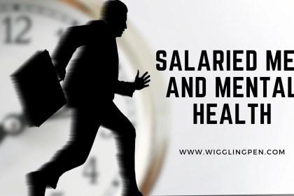 salaried men and mental health