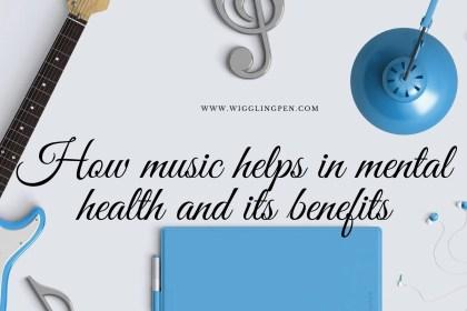 Music helps in mental health