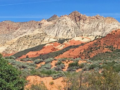 Snow Canyon colors