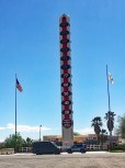World's largest thermometer Baker, CA