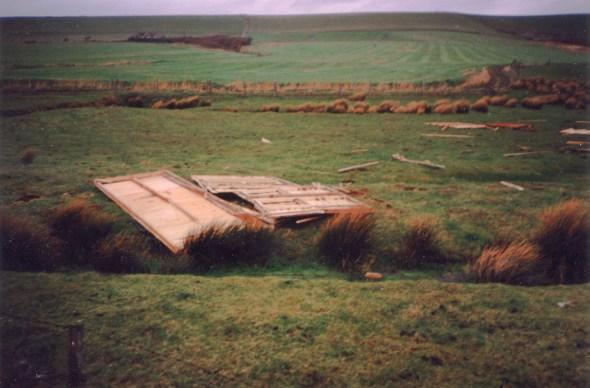 IOW Surf Club Hut Remains 1987