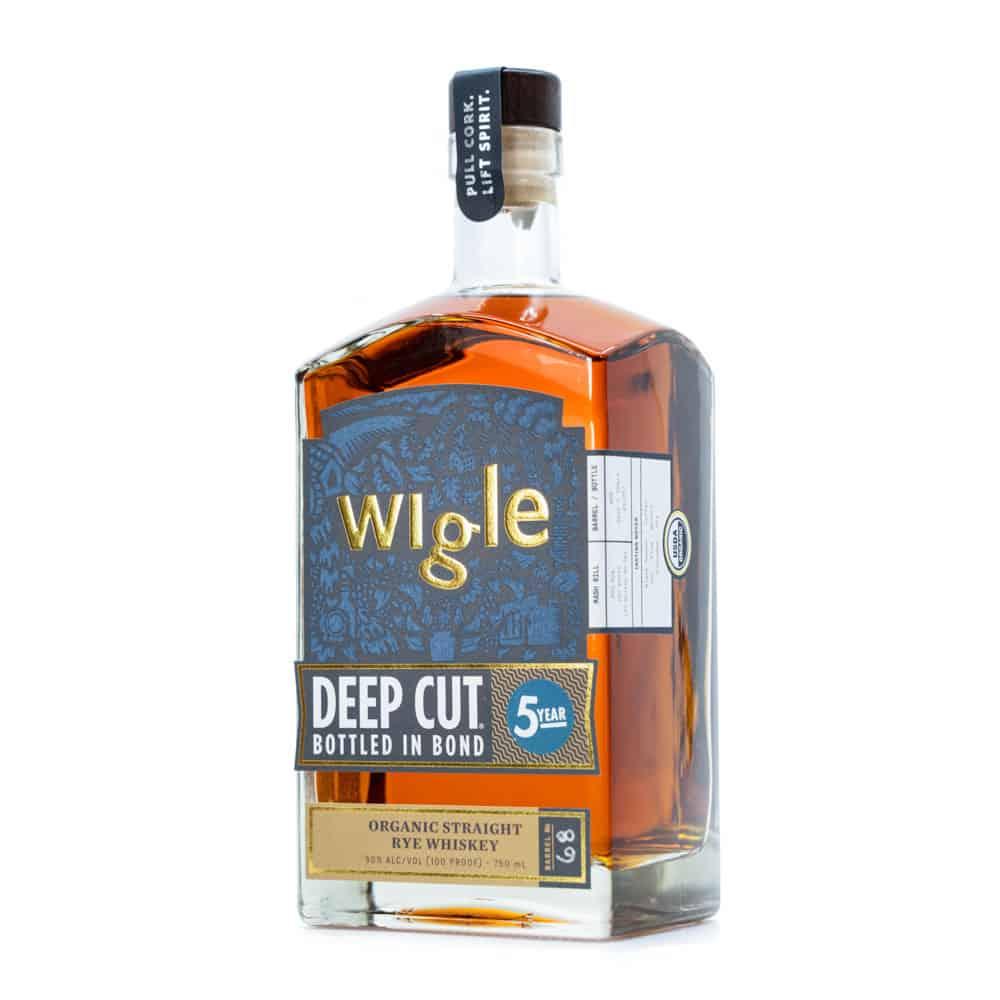 Wigle Deep Cut Bottled in Bond 5 year Old Whiskey