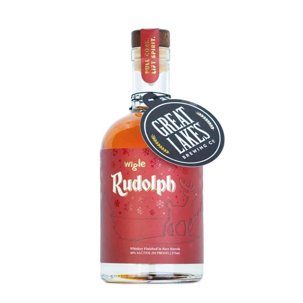 Wigle Rudolph Whiskey Bottle