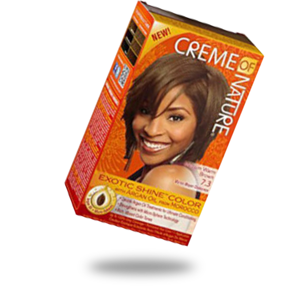 Crème of Nature Exotic Shine and Color Medium Warm Brown