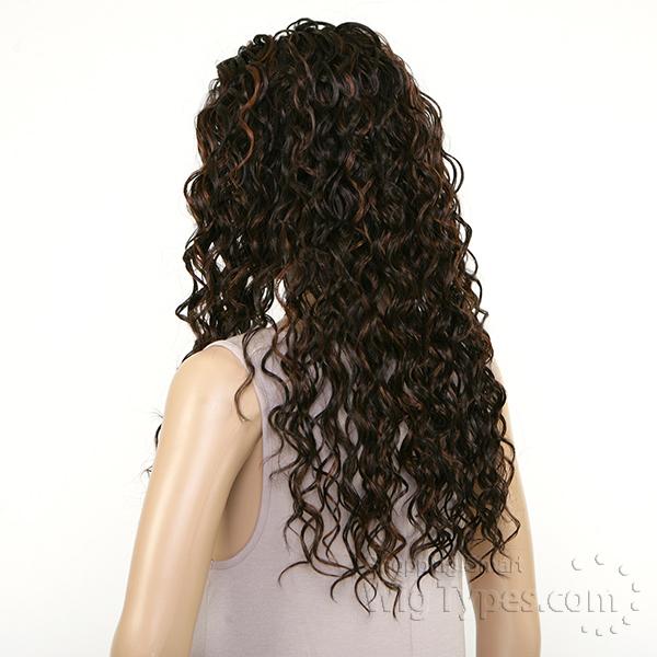 Sensationnel Synthetic Half Wig Instant Weave HZ 7047