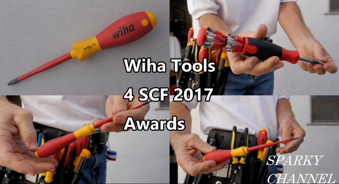 Wiha Sparky Channel Award Winners - Tools for Eletrical Work