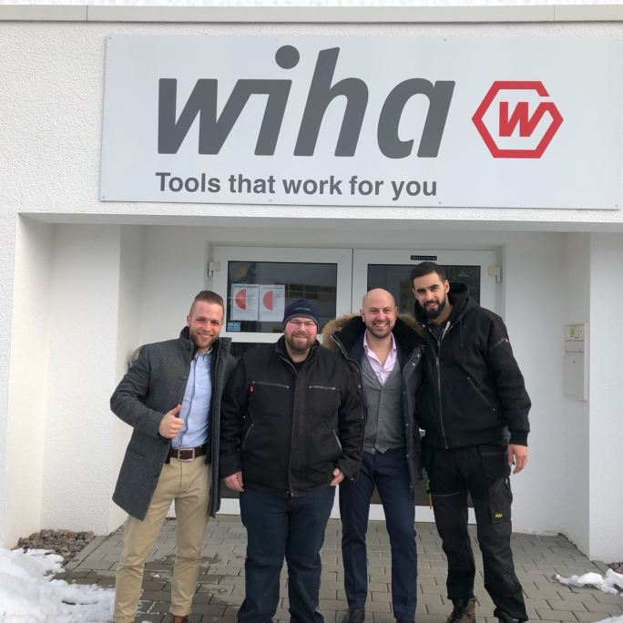 Atlas Machinery and Toolaholic at Wiha Factory