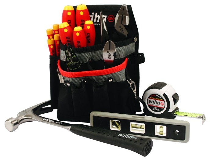 New Electrician Sets Apprentice Tool Set From Wiha Tools