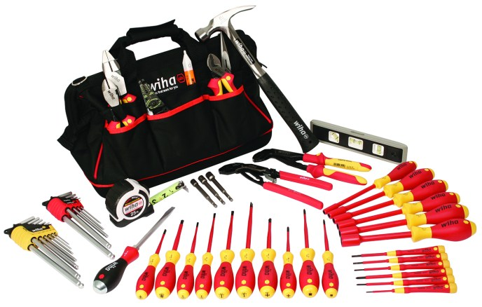 New Electrician Sets from Wiha Tools Master Electricians Set
