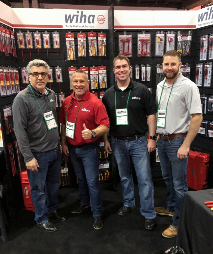 Wiha sales team at Grainger Show