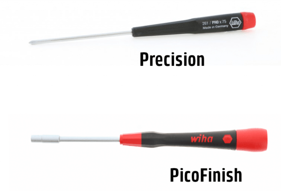 Wiha Screwdriver Microfinish with Rundklinge all Types Multiple Choices