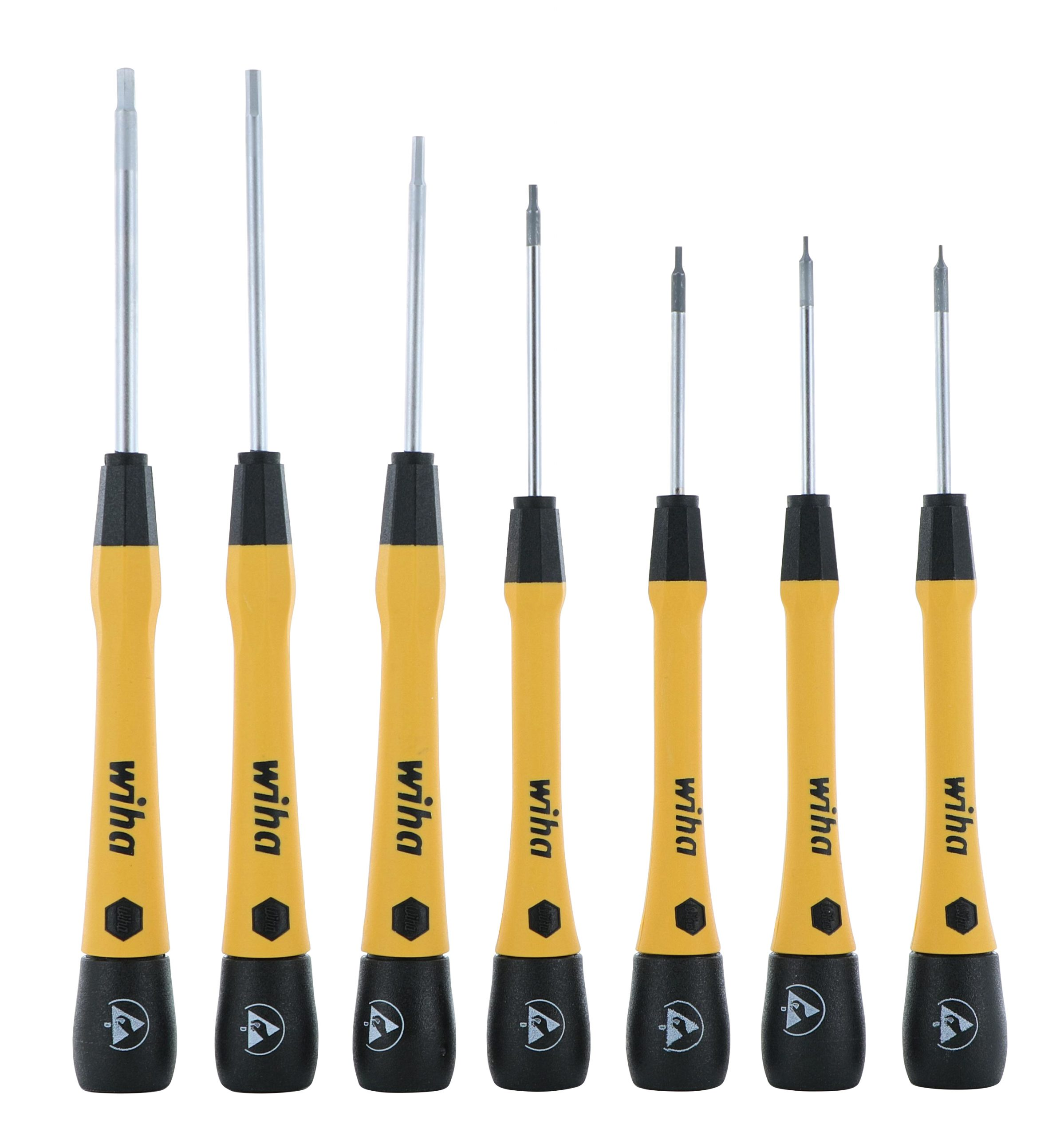 ESD Safe Precision Screwdrivers in PicoFinish Style