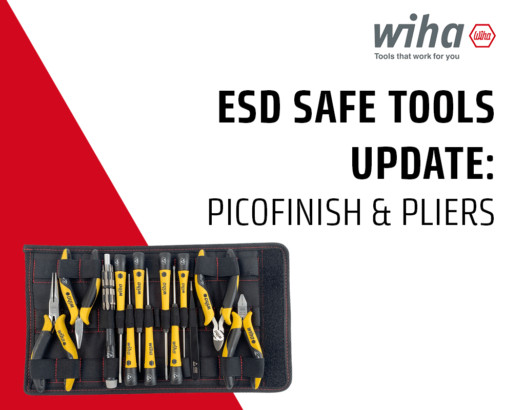 ESD Safe Tools from Wiha Tools