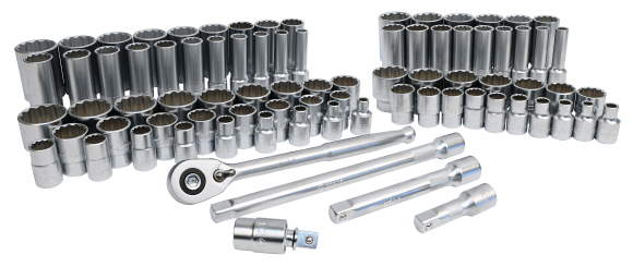 """84 Piece 1/2"""" Drive Socket set from Wiha Tools on BIG DEAL for September and October"""