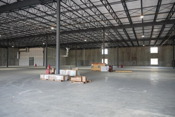 Warehouse Space used to shoot Wiha Tools Commercial Behind the Scenes