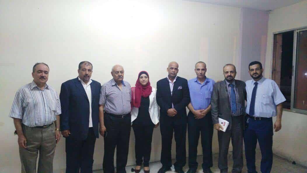 بالصور / الإعلان عن أول قائمة انتخابية في الزرقاء