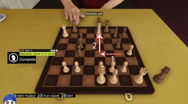 #Checkmate Level 9