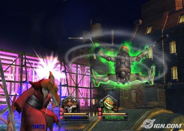 Teenage Mutant Ninja Turtles: Smash-Up Screenshot