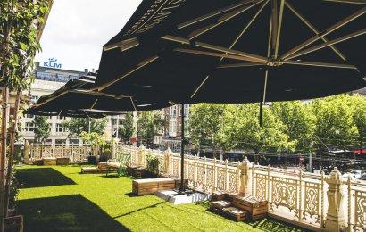 Chef-kok Steve Depp opent pop-up restaurant op balkon Stadsschouwburg Amsterdam