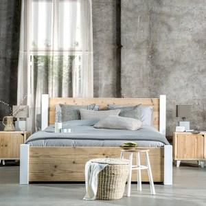 Steigerhout bed Pura