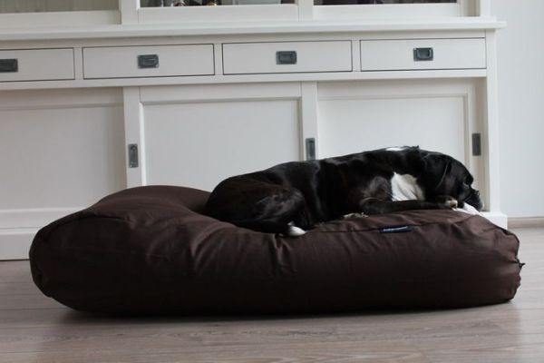 Dog's Companion® Hondenkussen chocolade bruin katoen