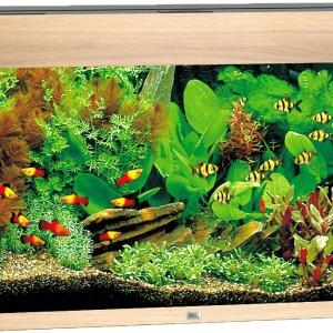 Juwel Rio 125 aquarium (Kleur: lichteiken)