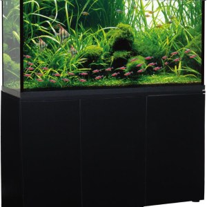 Trofis Colisa A-1200 Zwart - Aquarium + LED