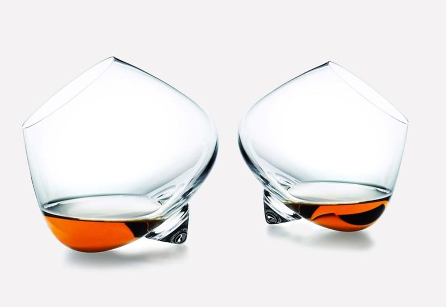 Whiskey en het glas