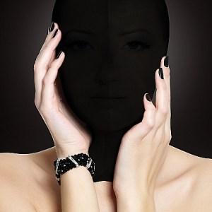 Subjugation Mask Black