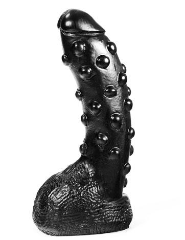 Tonguebiter Dildo zwart
